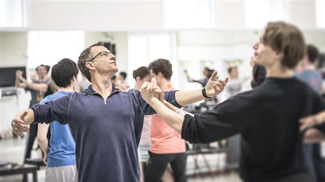 Jean Grand-Maître, directeur artistique de l'Alberta Ballet.
