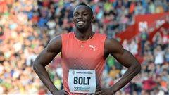 Entrée en matière tranquille pourUsain Bolt