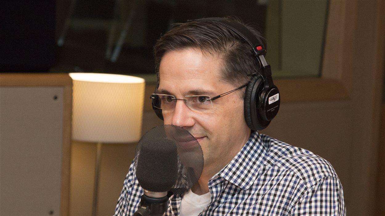 Le physiothérapeute Denis Fortier