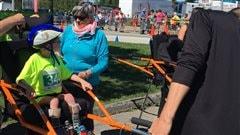 Un triathlon de Victoriaville fait une place aux athlètes handicapés