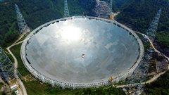 Le plus grand radiotélescope du monde commence ses observations