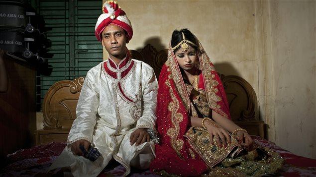 Mariage précoce chez les adolescentes