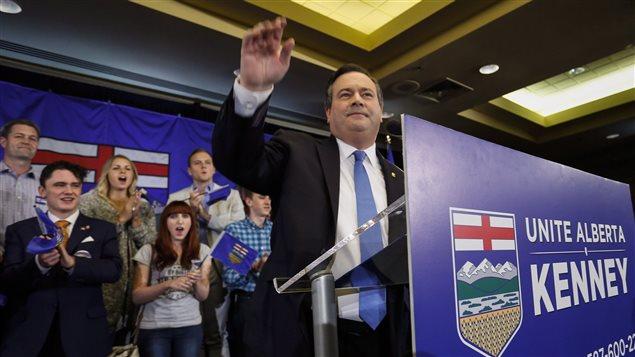 Jason Kenney s'est officiellement lancé dans la course à la direction du Parti progressiste-conservateur de l'Alberta.