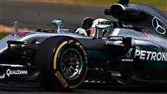 Hamilton domine les essais en Malaisie