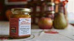 La marmelade de courgettes et d'oranges de Kristine Landry