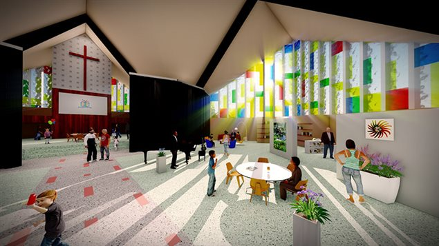 l 39 glise saint yves deviendra un espace commercial et communautaire ici radio. Black Bedroom Furniture Sets. Home Design Ideas