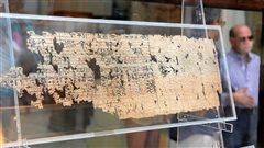 Le plus vieux papyrus exposé au Caire