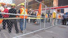 La CNESST ordonne la fermeture du chantier du CHUM
