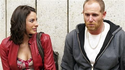Mylène St-Sauveur et Alexandre Goyette dans une scène de «King Dave»