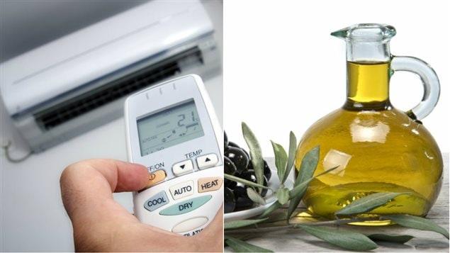 conseils pour choisir un climatiseur et une huile d olive les claireurs. Black Bedroom Furniture Sets. Home Design Ideas