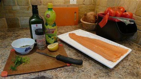 Vos meilleures recettes franco manitobaines saumon en for Saumon en papillote au barbecue