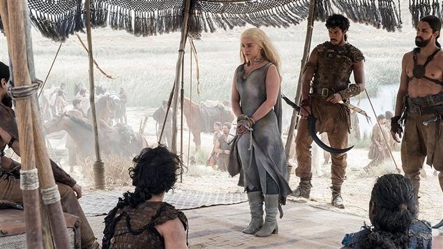 Une scène de la série « Game of Thrones »