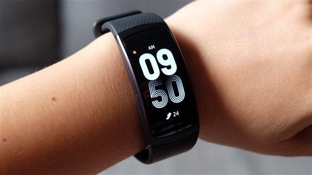 Le bracelet d'entraînement Samsung Gear Fit2