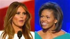 Melania Trump s'inspire littéralement d'un discours de Michelle Obama