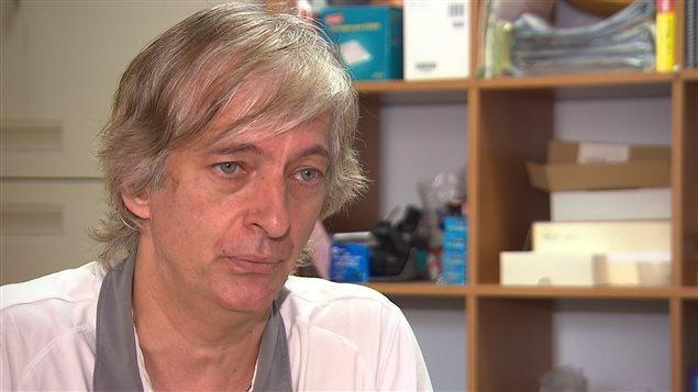 Le conseiller budgétaire de l'Association coopérative d'économie familiale (ACEF) du Nord de Montréal, Sylvain Lafrenière