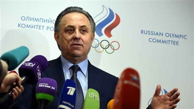 Le ministre russe des Sports Vitali Moutko