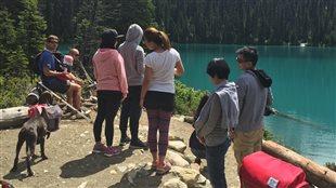 Joffre Lakes...un paysage époustouflant et accessible