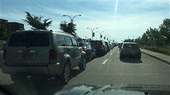Sherbrooke : une fuite de gaz a compliqué le retour à la maison