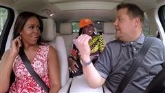 Michelle Obama fait du karaoké à l'émission de fin de soirée de James Corden