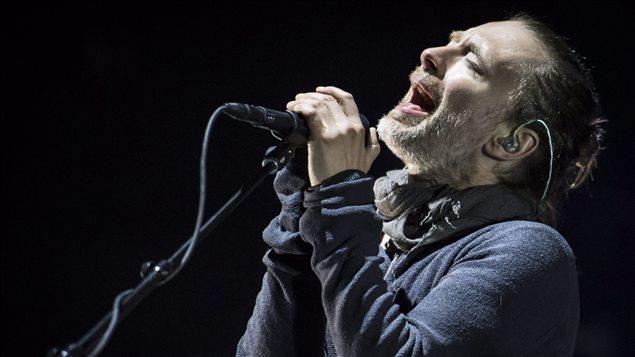 Le groupe britannique Radiohead et son chanteur, Tom Yorke, sont très attendus au festival Osheaga.