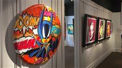 Pop art: Guy Boudro expose ses œuvres dans le Vieux-Québec