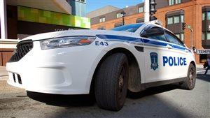 Voiture de la police d'Halifax