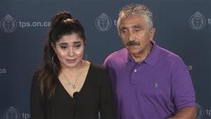 Des membres de la famille d'Ariela Navarro-Fenoy