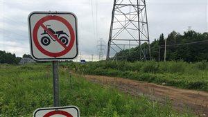 Le secteur est interdit aux véhicules motorisés.