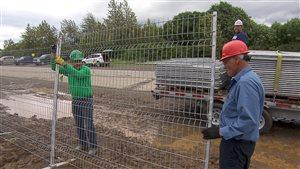 Les chantiers de construction seront vides pour les deux prochaines semaines.