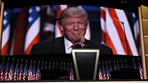 Donald Trump accepte l'investiture du Parti républicain en vue de l'élection présidentielle américaine