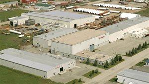 L'usine de turbines Hitachi, à Saskatoon.