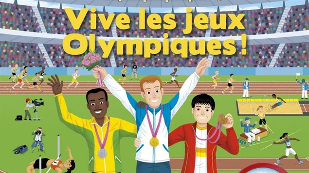« Vive les jeux Olympiques! »