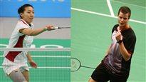 Michelle Li et Martin Giuffre iront à Rio en badminton
