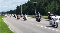 Rassemblement de motocyclistes au Saguenay-Lac-Saint-Jean