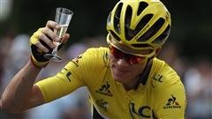 Un troisième sacre pour Chris Froome au Tour de France