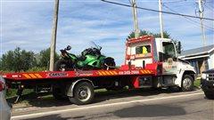 Accident de la route à Desbiens