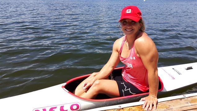 La kayakiste Andréanne Langlois