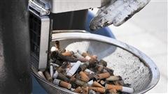 70 000 mégots de cigarettes montréalais recyclés depuis juin