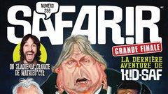 Le magazine humoristique <em>Safarir</em> met fin à toutes ses activités