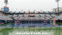 Un début de Coupe Rogers sous la pluie à Montréal