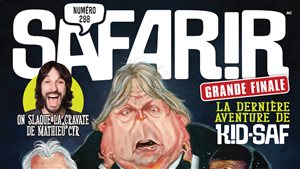 Le magazine humoristique <i>Safarir</i> met fin à toutes ses activités