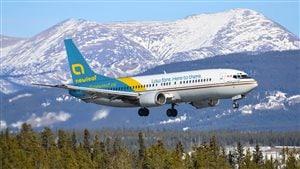Le vol inaugural du transporteur aérien NewLeaf a relié Hamilton à Winnipeg.