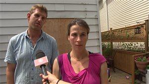 Le couple est venu en aide à la victime de l'attaque.