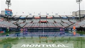 La pluie retarde les matchs à Montréal de la Coupe Rogers
