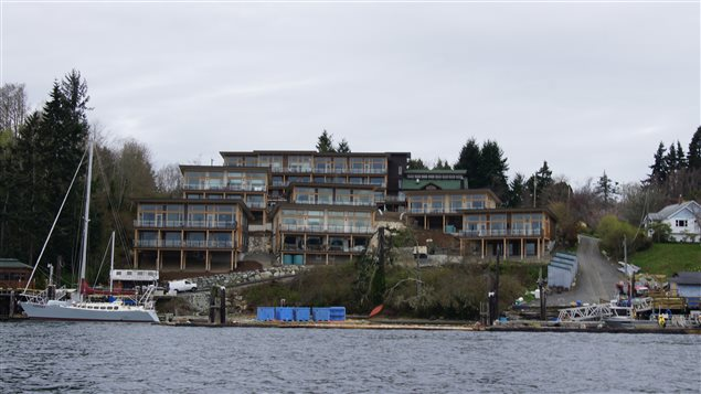 Le Harbourside Cohousing, à Sooke, en Colombie-Britannique.
