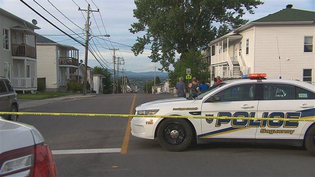Un homme s'est barricadé à Saguenay, dimanche