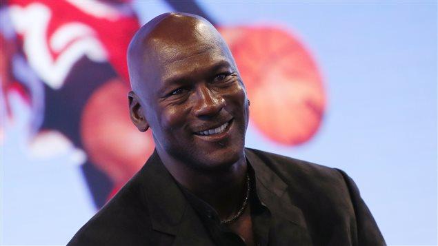 La légende du basketball Michael Jordan