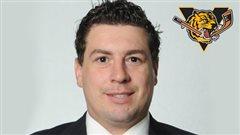 Louis Robitaille, nouvel entraîneur-chef des Tigres de Victoriaville
