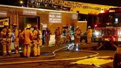 Incendie suspect àMontréal-Est