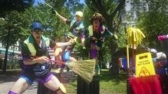 Un cirque fera réagir les Montréalais sur les questions de propreté